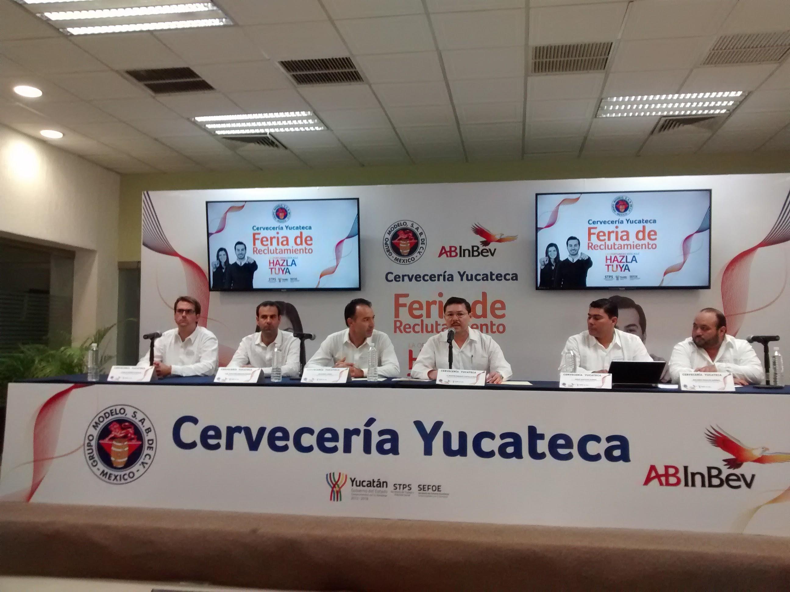 Nueva Cervecería Yucateca ofertará 400 vacantes