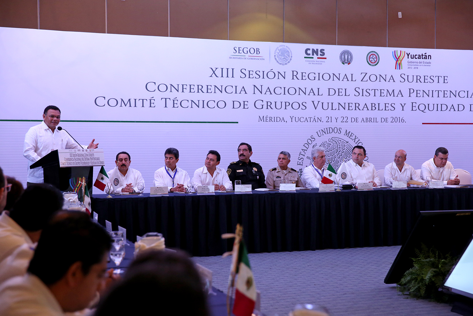 Seguridad, tema de Conferencia Regional Sureste en Yucatán