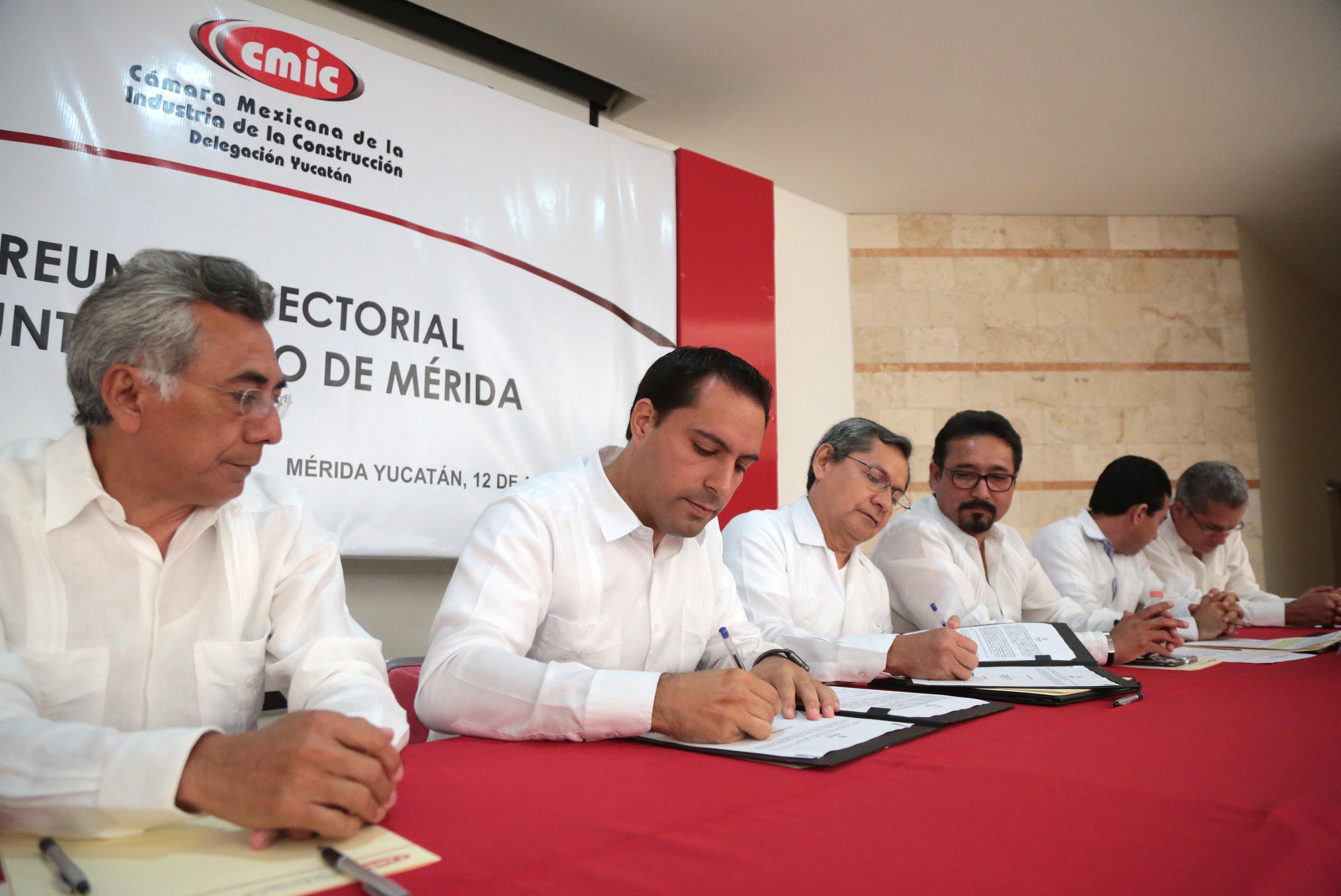 Más de $660 mdp para obra pública en Mérida durante 2016