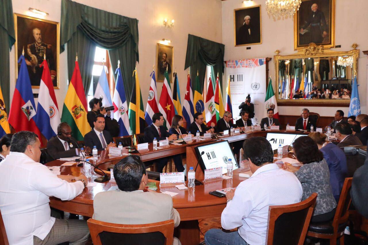 Asiste Vila a reunión regional ONU-Hábitat