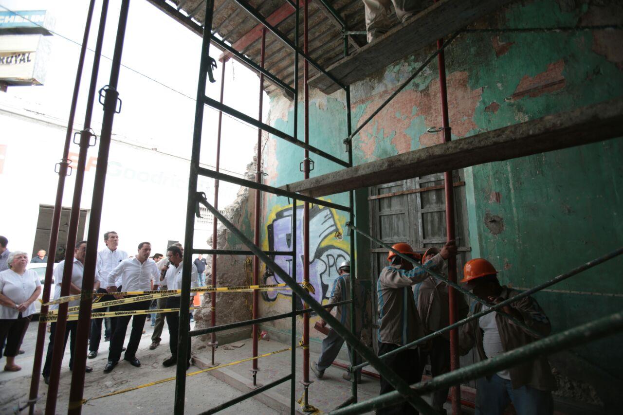 Busca Mérida evitar más derrumbes en su Centro Histórico