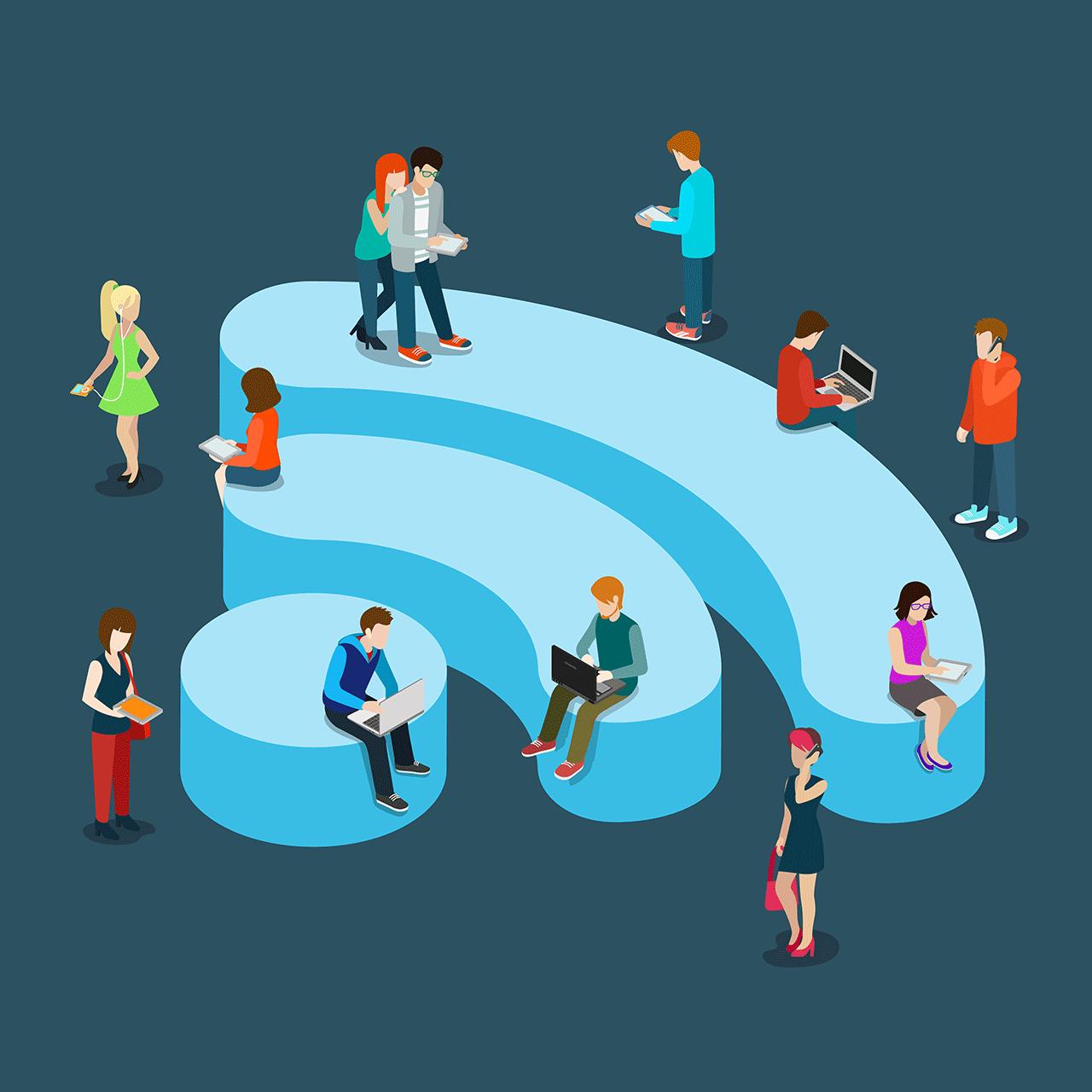 Wi-Fi, más difícil de dejar que drogas y alcohol, revela encuesta
