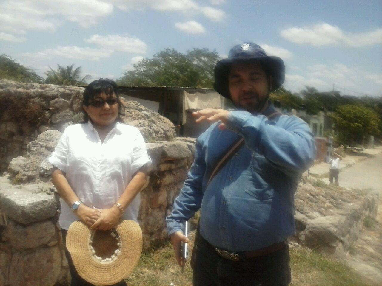 Observatorio de Sol y Venus, en sitio prehispánico de Acanceh
