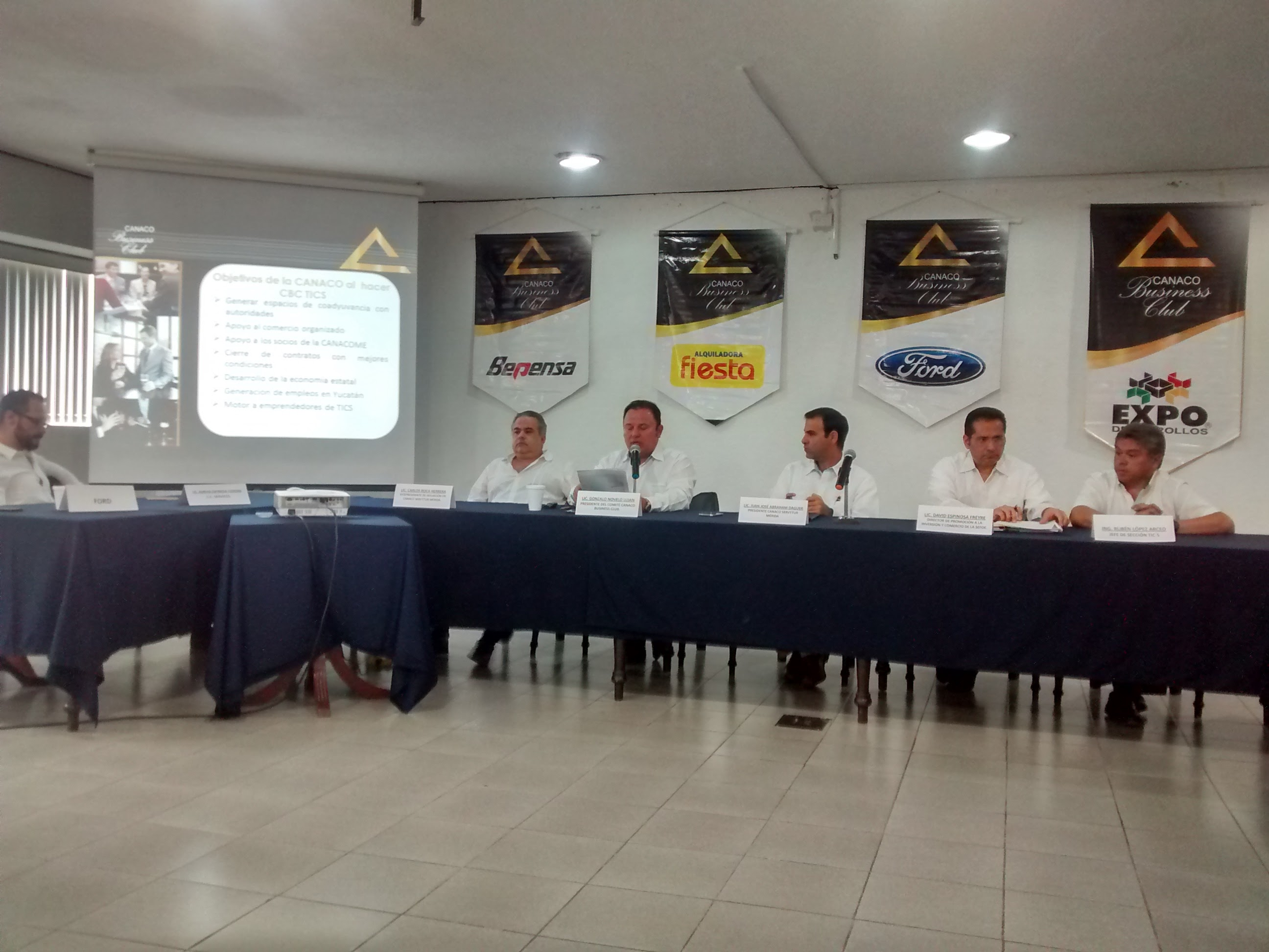 Promueve Canaco Mérida tercer Business Club