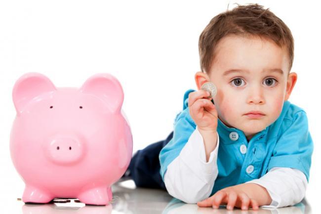 Cinco errores financieros desde la infancia