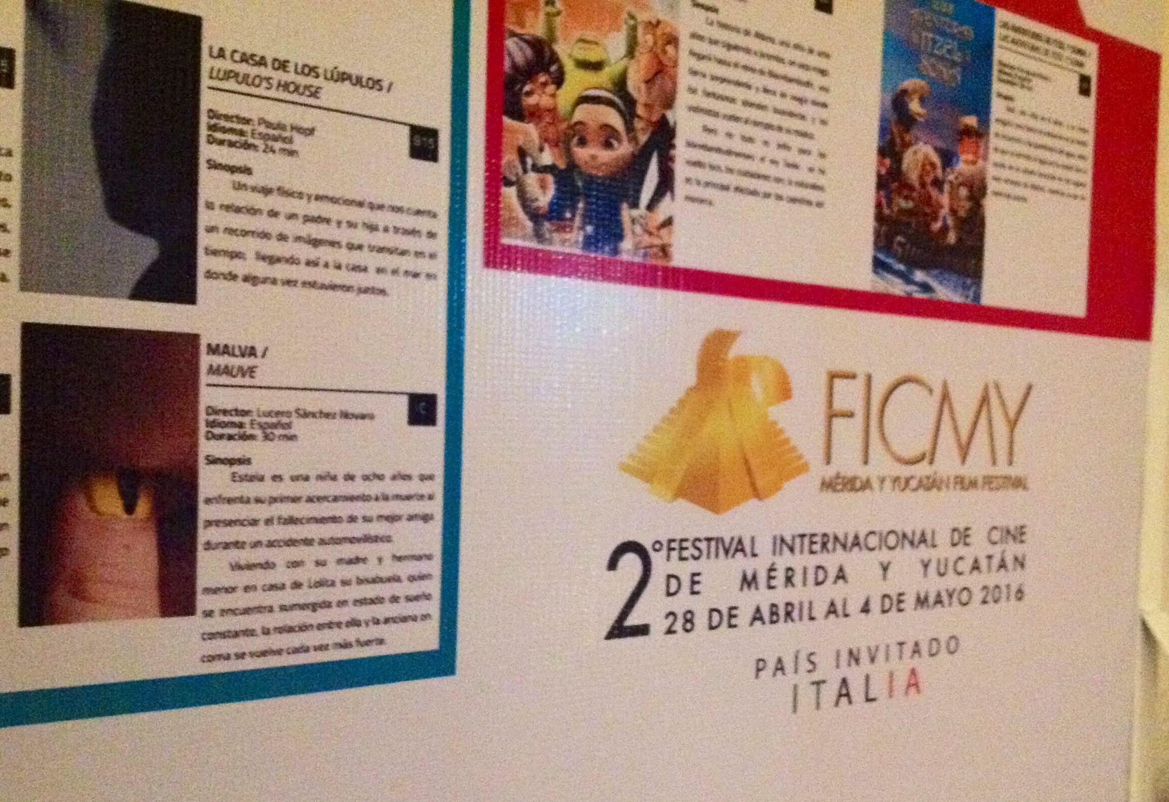 Un recorrido por el Festival Internacional de Cine de Mérida