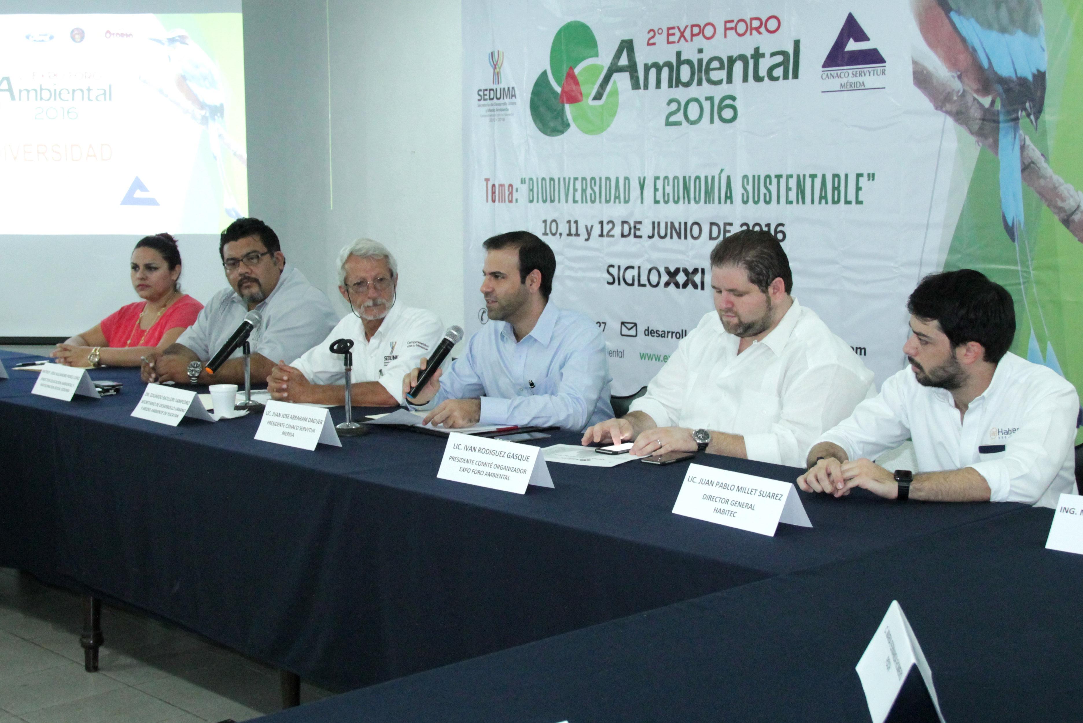 Expo Foro Ambiental 2016, con innovaciones