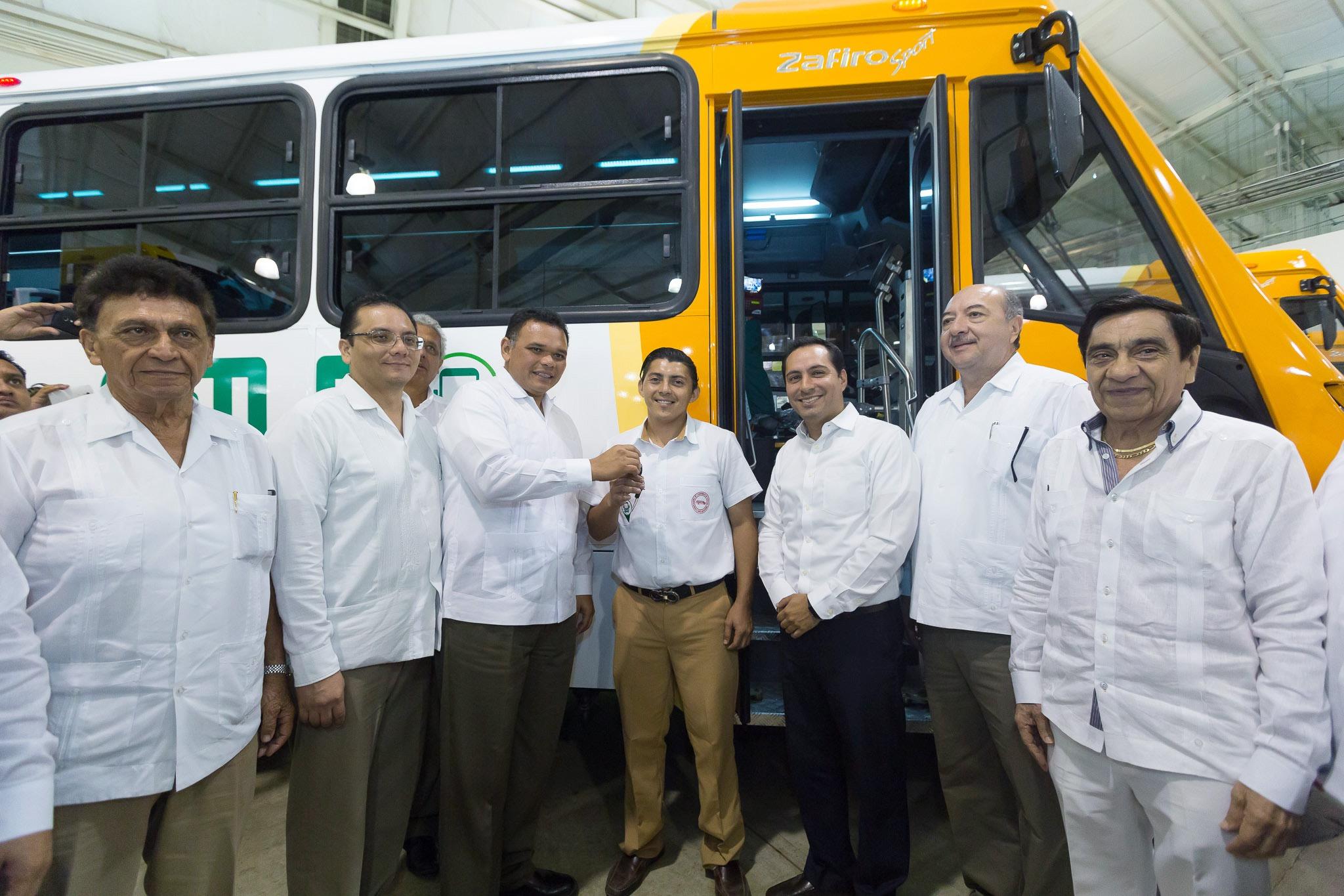 Nuevas rutas a modernización de transporte público en Mérida