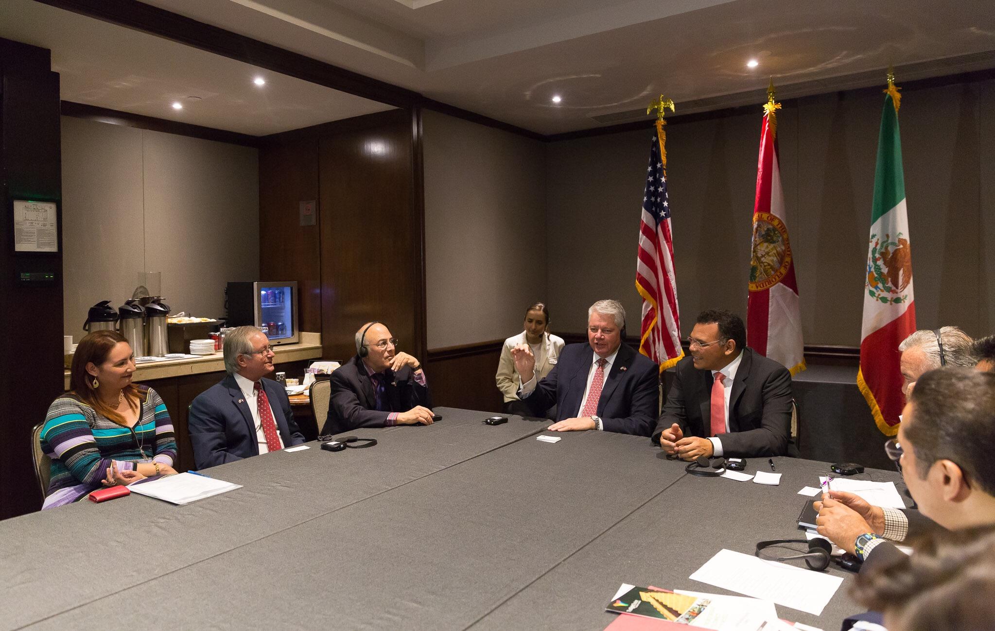 Yucatán y Florida fortalecen comercio bilateral