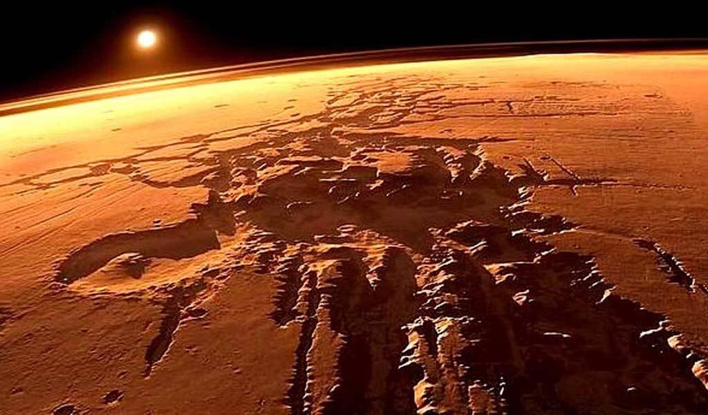 Marte sale de una era de hielo