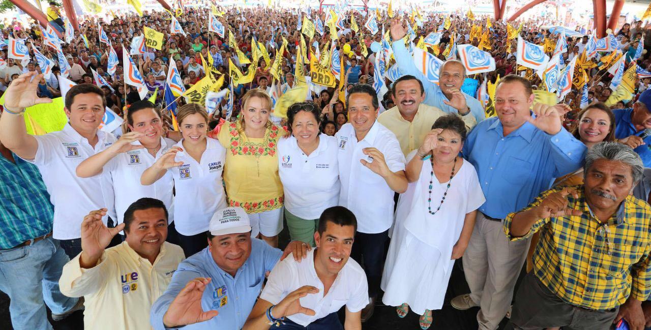 """Llevan alcaldes yucatecos denuncia de """"turismo electoral"""" en QRoo"""