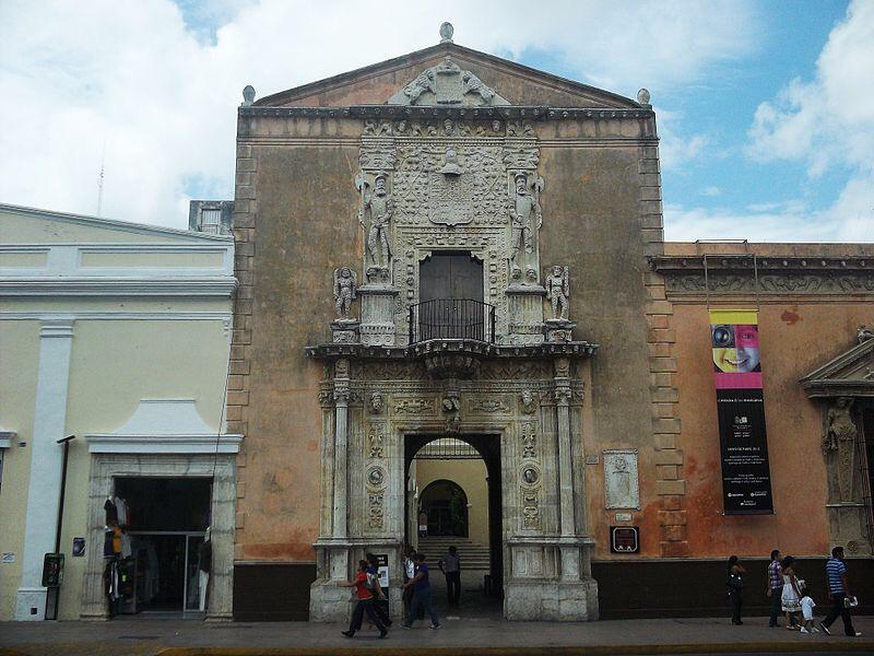 """Casa de los Montejo candidata a """"Tesoro del Patrimonio Cultural de Mérida"""""""