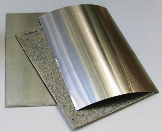 Obtienen material laminado resistente con material de desecho