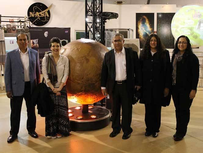 Científicos mexicanos desarrollan proyecto para explorar Marte