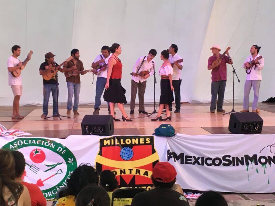 Cultura, música y protesta contra Monsanto