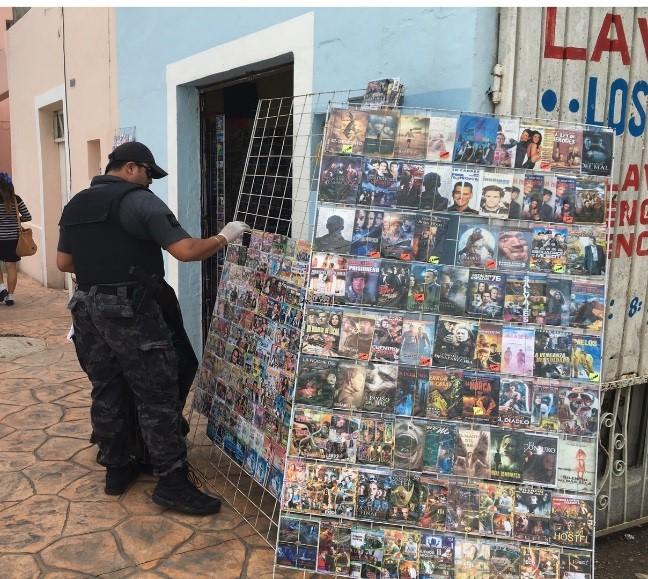 Decomisan discos apócrifos en Valladolid y Progreso