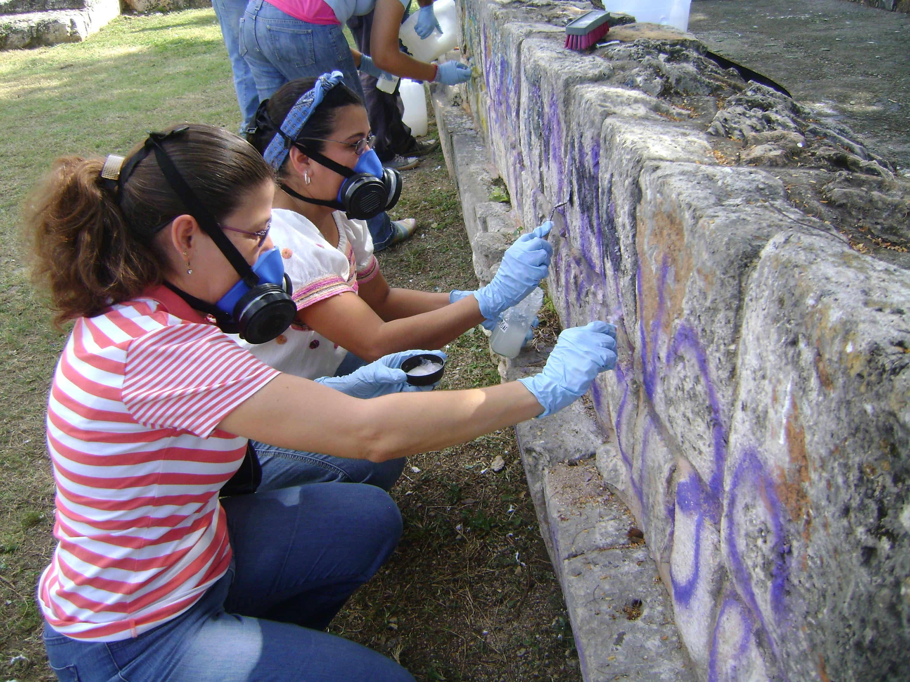 Restauración de vestigios en 3 reservas y 7 parques arqueológicos de Mérida