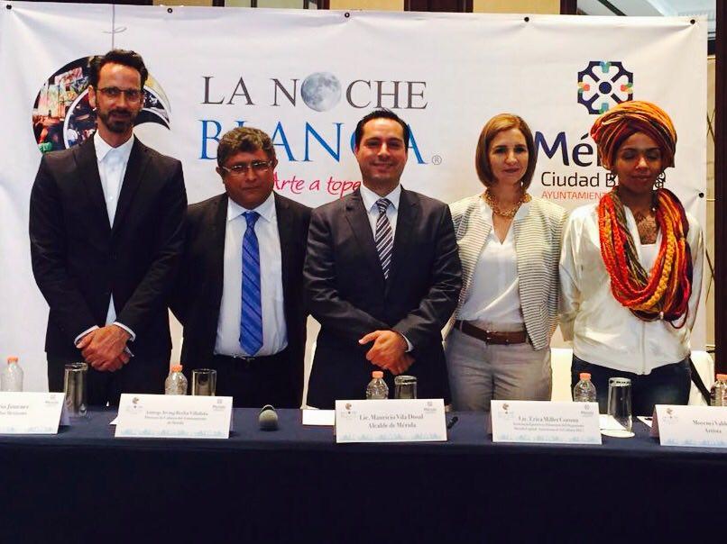 """Presenta Vila cuarta edición de """"La Noche Blanca"""" en Ciudad de México"""
