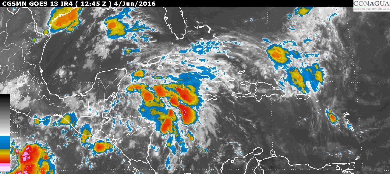 Aumenta potencial zona de inestabilidad en el Caribe