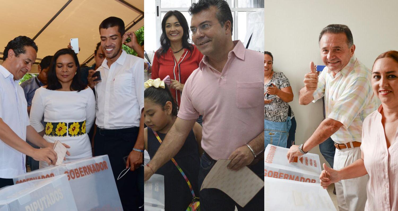 Candidatos en QRoo y sus expectativas este domingo