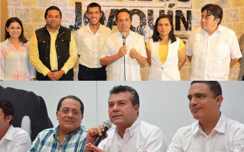 Se declaran triunfadores Joaquín y Góngora en QR
