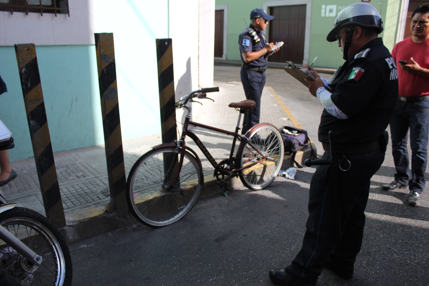 Atropellan a ciclista extranjera