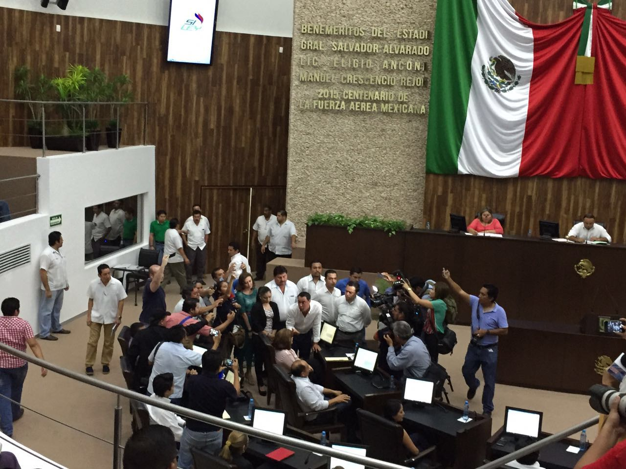 Ebulle Congreso de Yucatán por Ley Uber