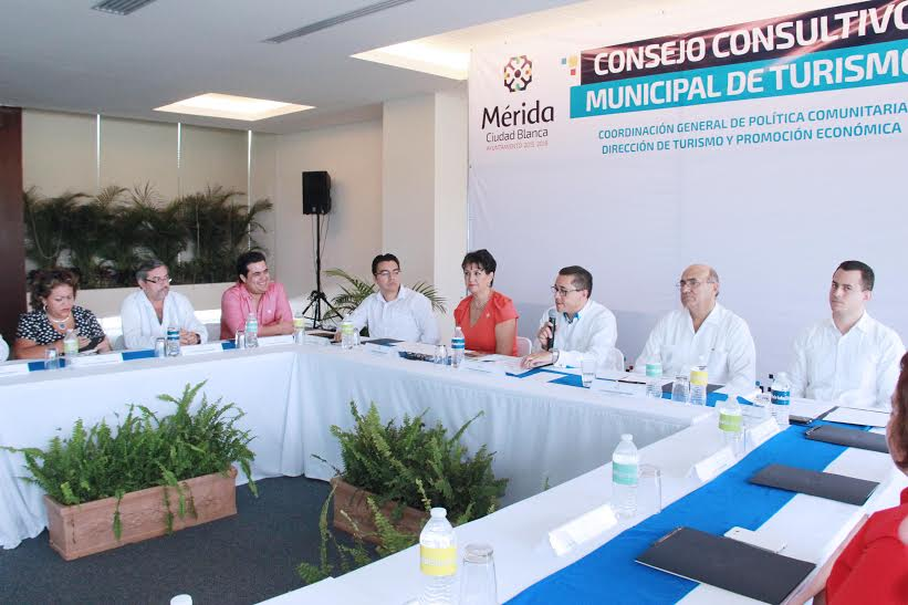 Activa MéridaConsejo Consultivo Municipal deTurismo