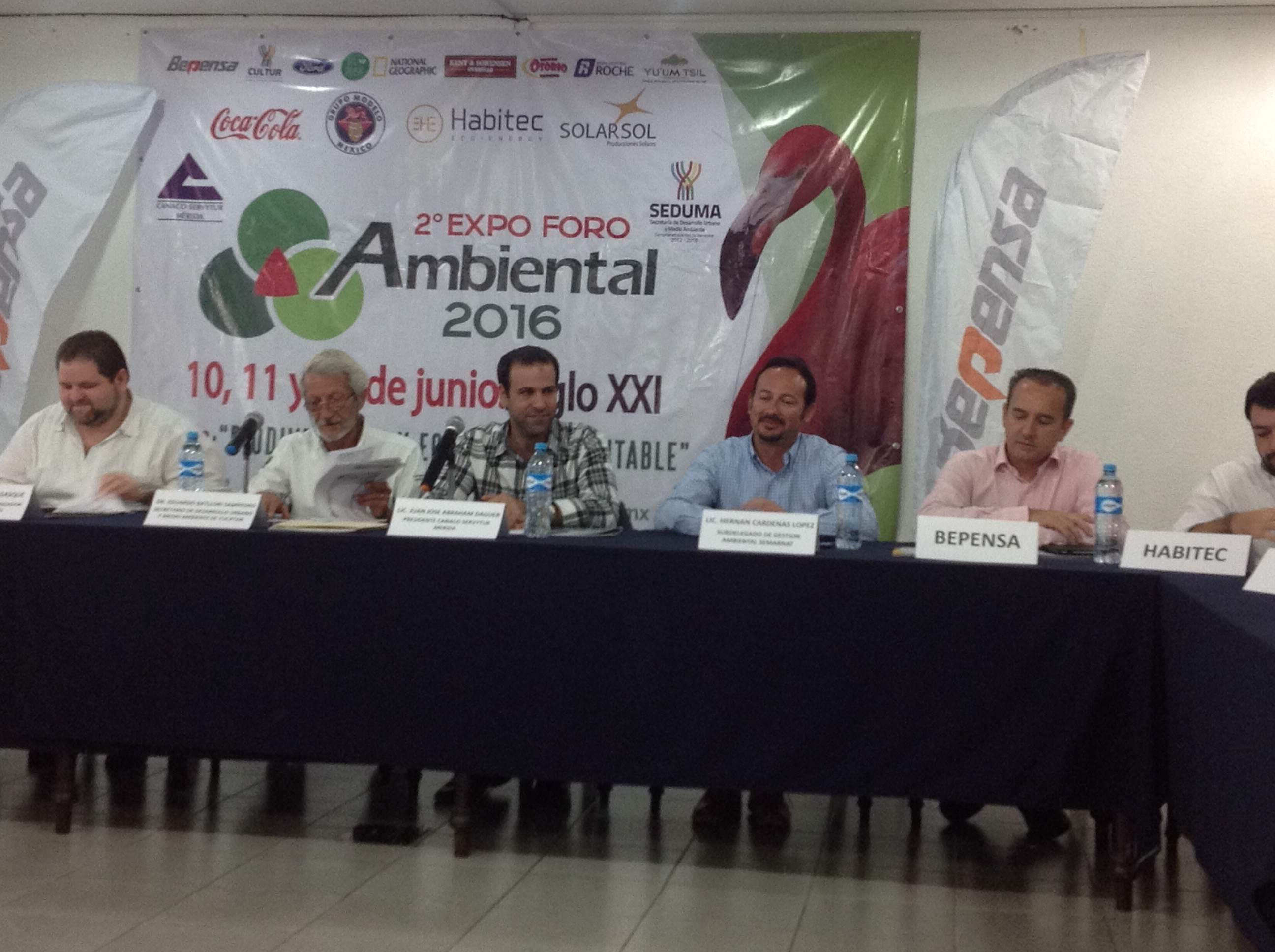 Cine por medio ambiente en Expo Foro 2016