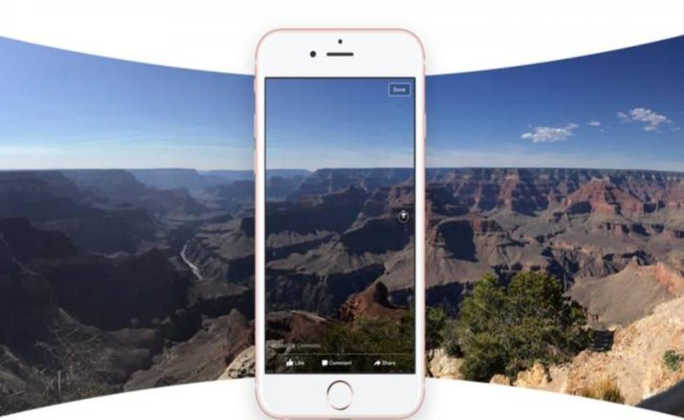 Fotos en 360 grados llegan a Facebook