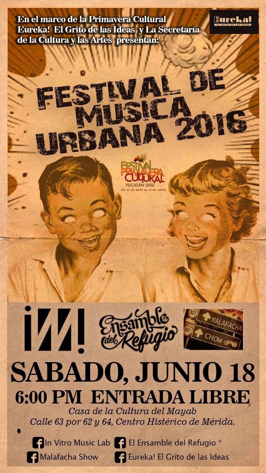 Primer Festival de Música Urbana en Mérida