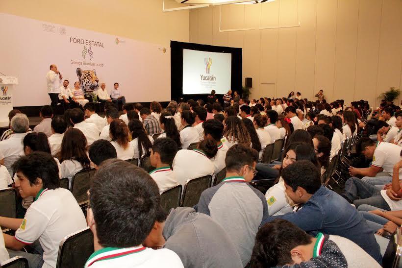 Emiten pronunciamiento de jóvenes yucatecos sobre biodiversidad