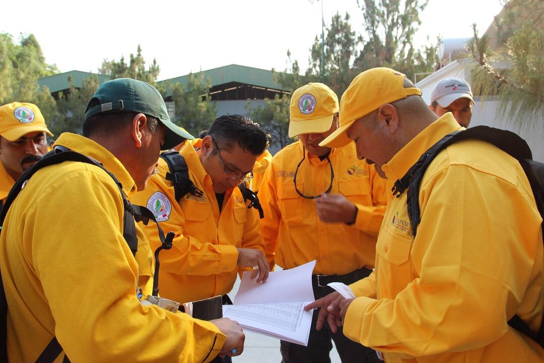 Jalisco y Yucatán, con mayor número de combatientes de incendios a Canadá