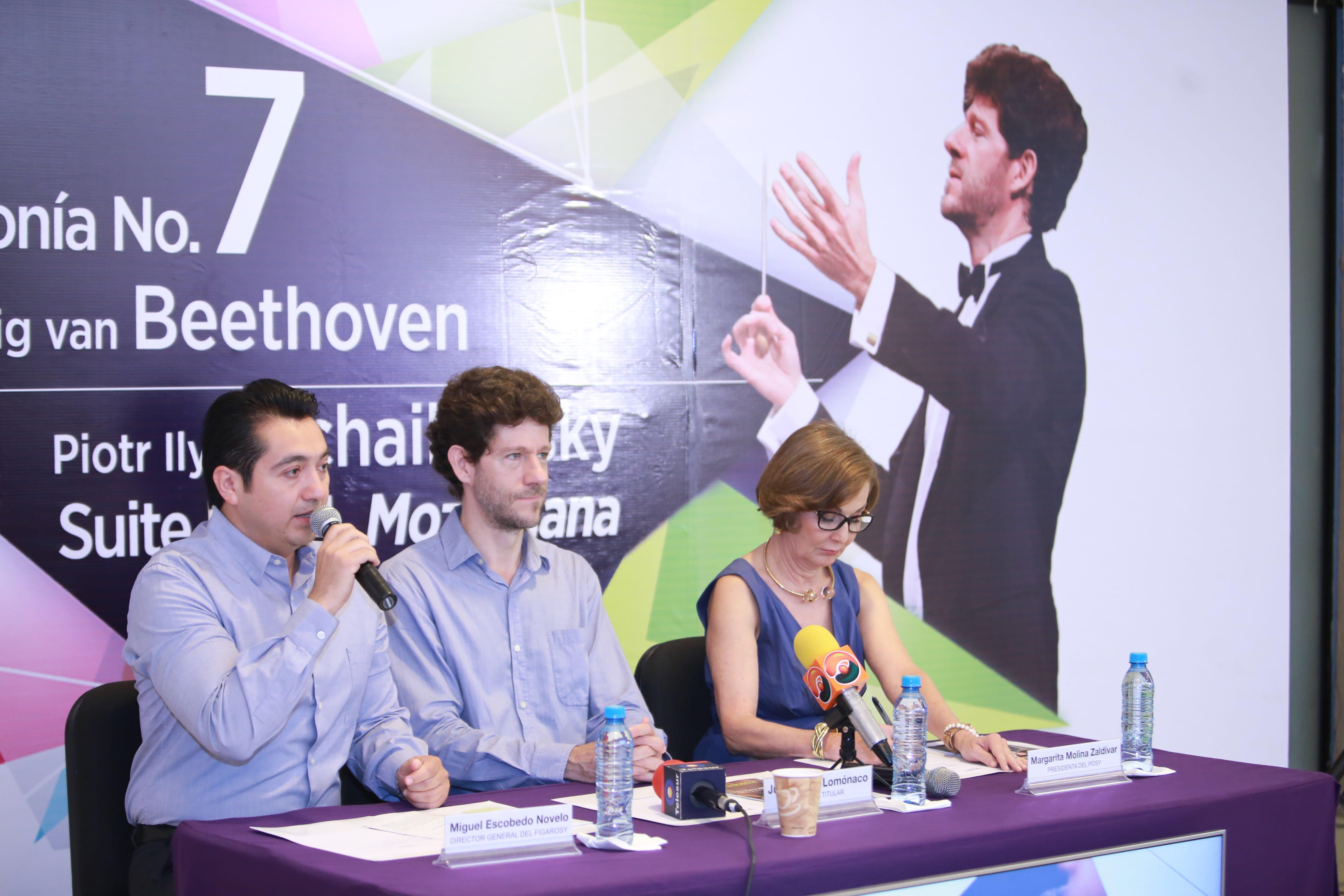 Joyas musicales de Beethoven y Tchaikovsky en repertorio de OSY