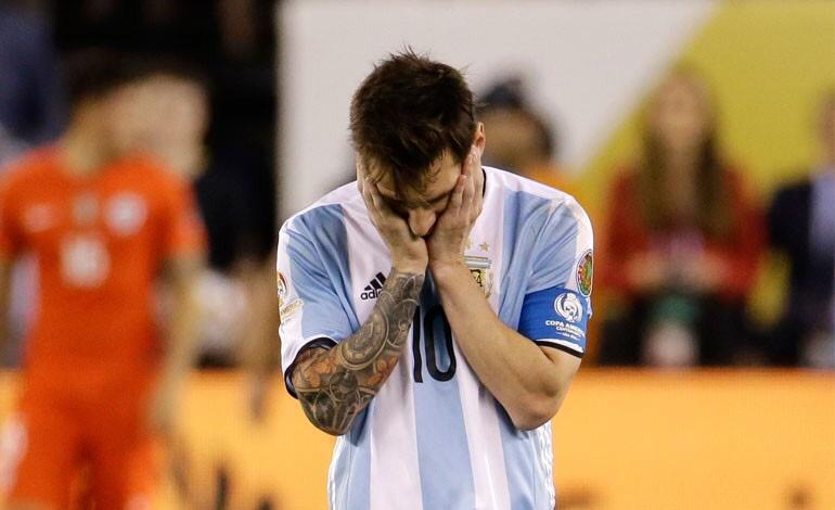 """Messi renuncia a Argentina: """"Se terminó la Selección, no es para mí"""""""