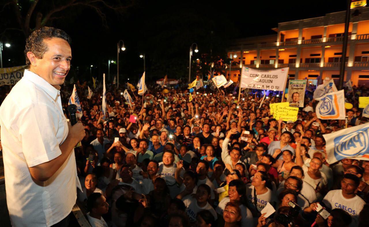 Consolida Joaquín González victoria en QRoo