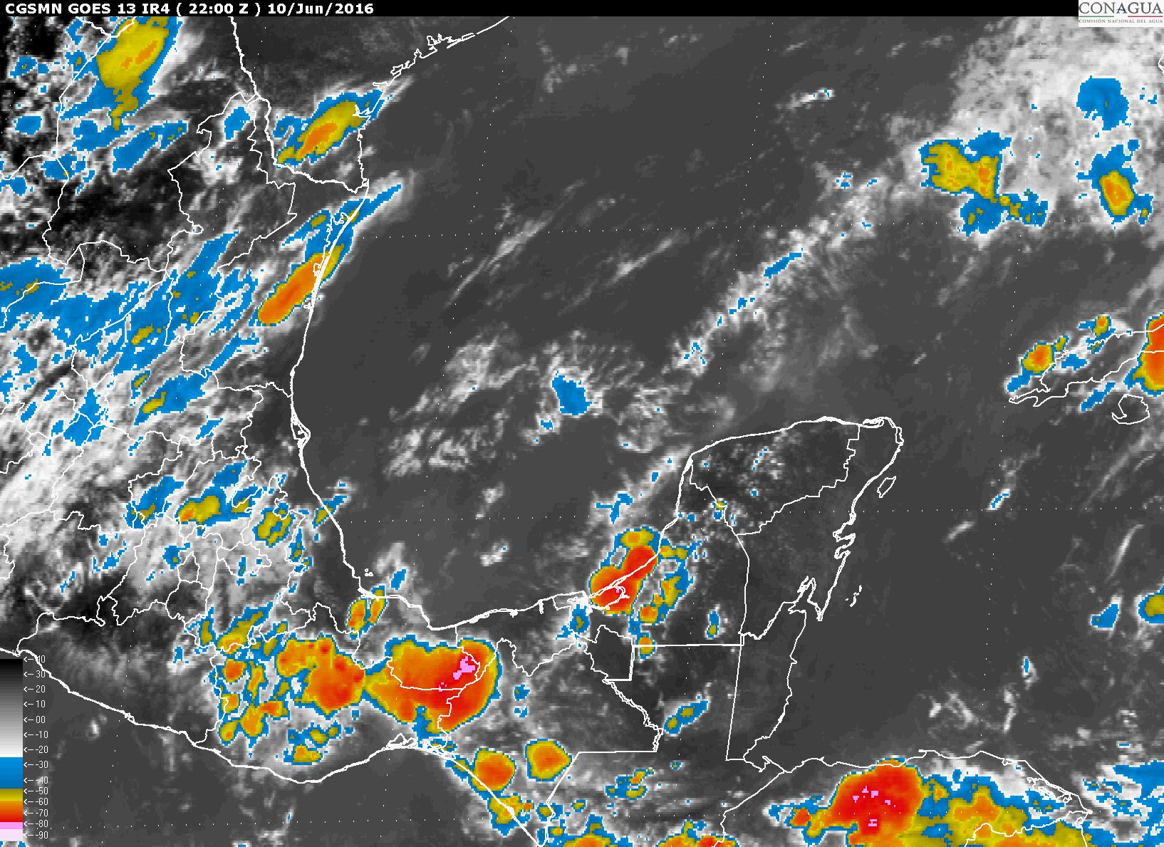 Onda tropical favorecerá lluvias el sábado
