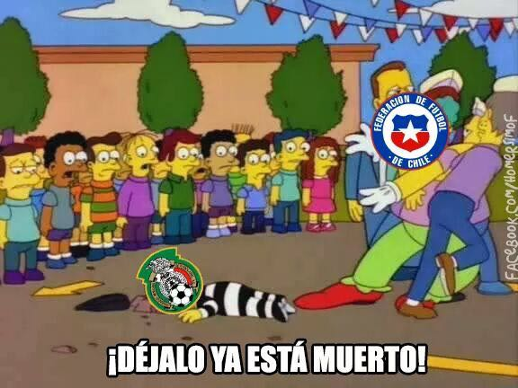 Los memes del México-Chile