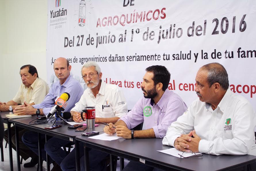 Promueven reducircontaminación de campo yucateco