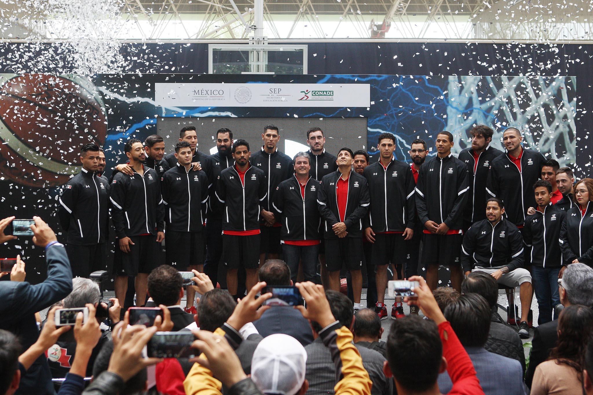 Selección mexicana de baloncesto se preparará en Yucatán