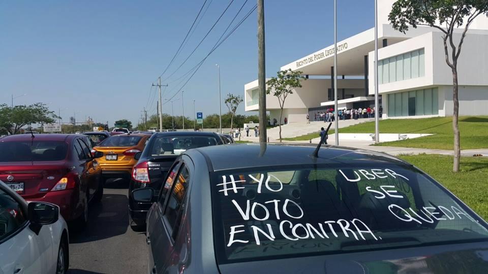 """Dejan corta """"Ley Uber"""" en Congreso Yucatán"""