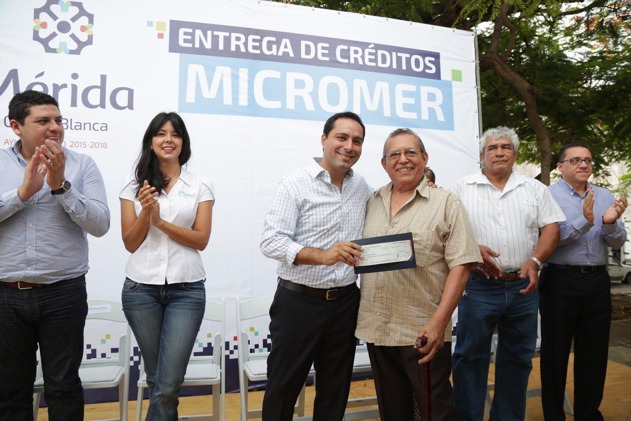 Créditos de Micromer a 39 emprendedores