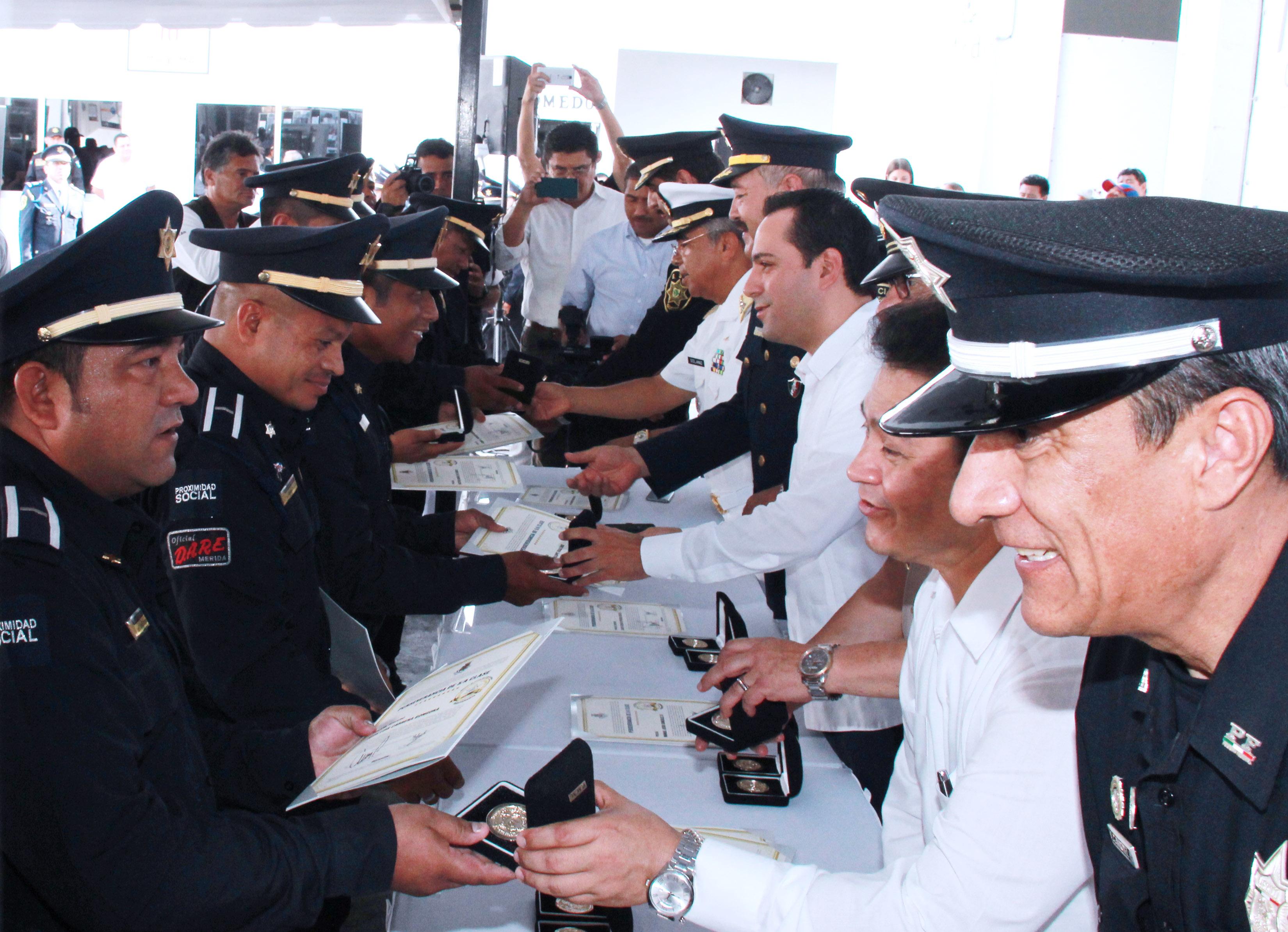 Policía de Mérida cumple 13 años