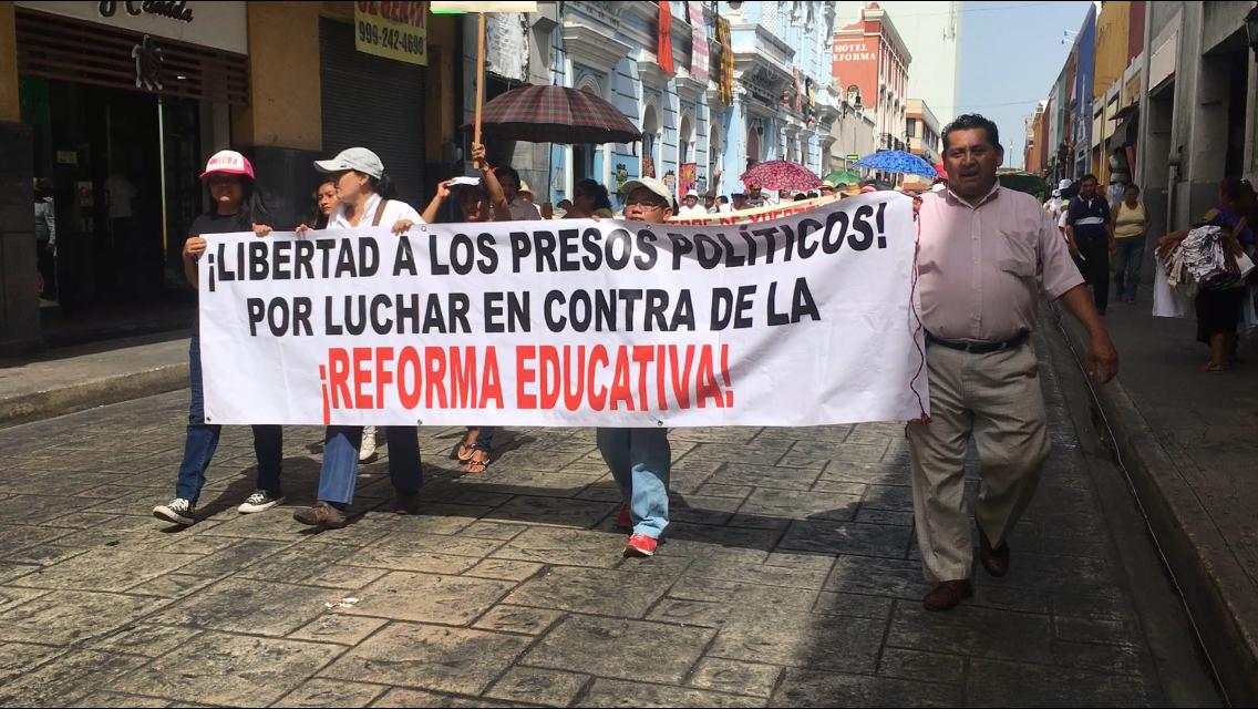 Reprueban a líderes sindicales de SNTE-Yucatán