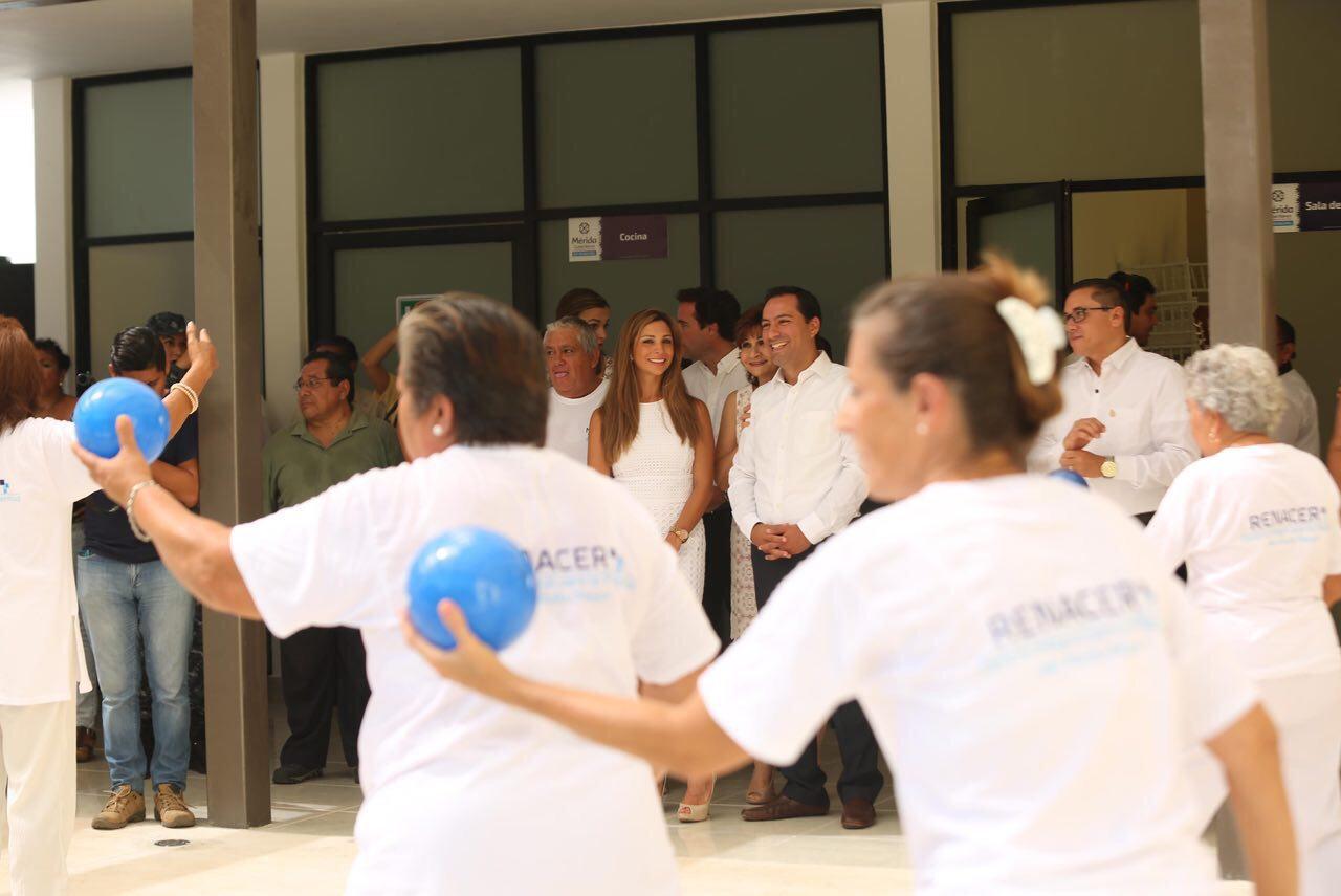 Cuenta Mérida con Centro Integral para la Plenitud del Adulto Mayor