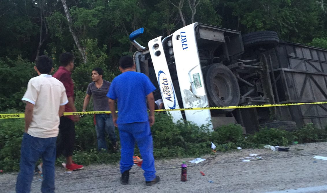 Termina periodo vacacional… y la vida de 45 personas, en accidentes en Yucatán (video)