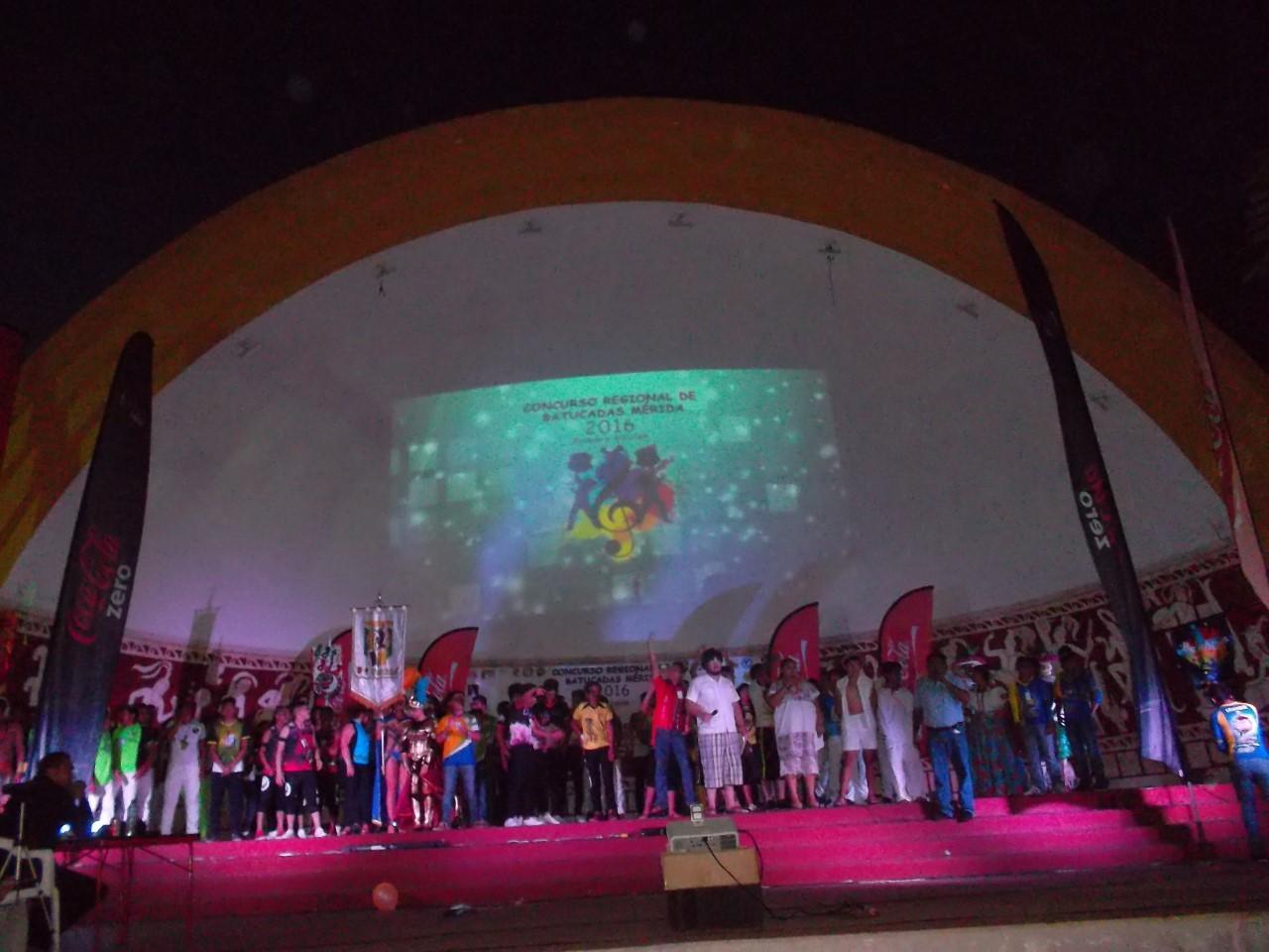 Duelo de batucadas en Mérida