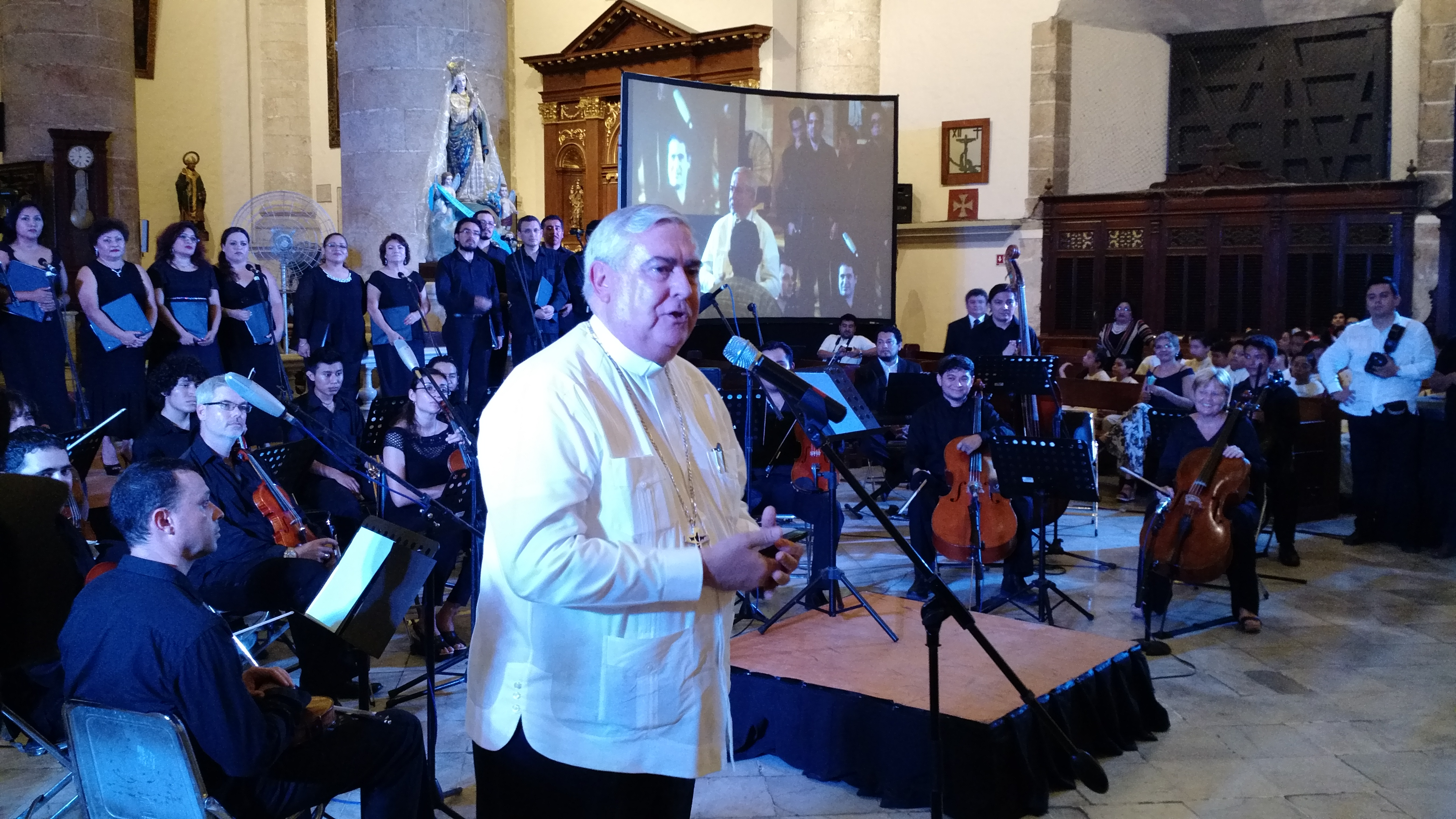 Destellos de música sacra en catedral de Mérida