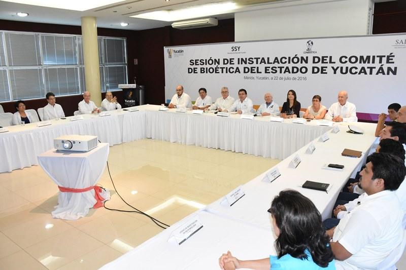 Instalan Comité de Bioética de Yucatán