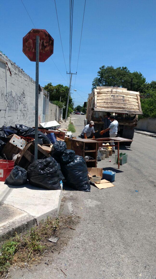 Concluye tercer operativo de descacharrización en Mérida